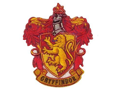by gedeacc-kreativ Bügelbild Aufnäher Patch Applikation zum Aufbügeln Harry Potter Wappen Logo Gryffindor 6,5 cm x 8,0 cm