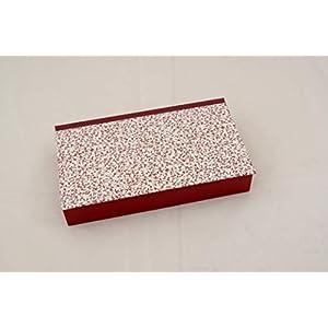 Stiftekästchen, Geschenkverpackung, Kästchen, Box, Schatulle, weinrote Ranken