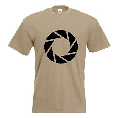 KIWISTAR - Aperture Science - Portal T-Shirt in 15 verschiedenen Farben - Herren  Funshirt