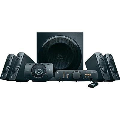 Enceintes stéréo 3D Z906 Logitech avec son Dolby Surround 51, THX, 1000W Idéales pour le salon par Logitech