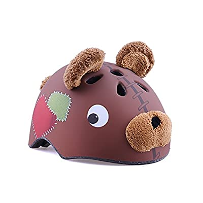 YXINY TH-008 Children Helmet High-grade PC+EPS 3D Cartoon Animals Child Allround Helmets Boy Girl Cycle Bike Helmet 50-55CM from YXINY
