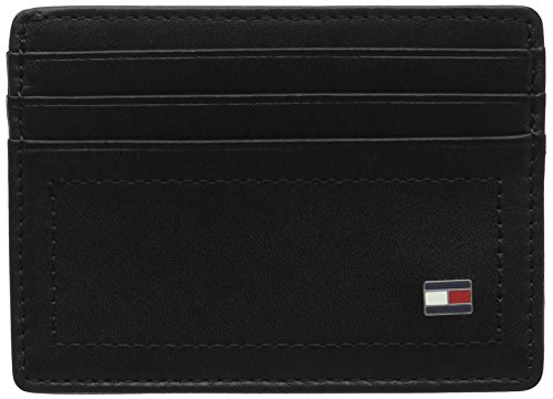 Tommy Hilfiger Harry CC Holder, Porte-Monnaie Homme, Black, 2x10x13 cm (W x H L)