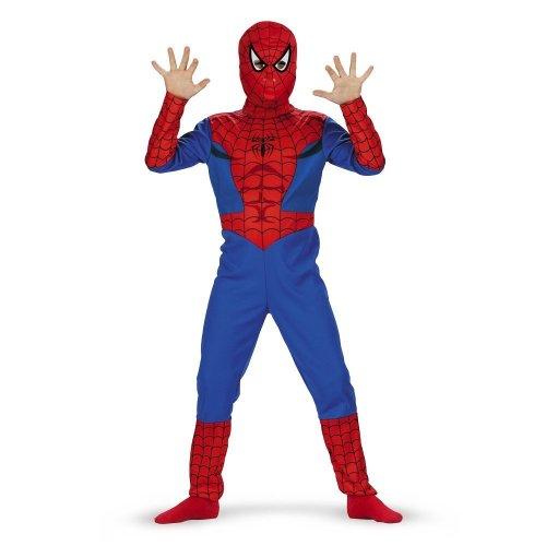 Spiderman, Classic - Size: Child S(4-6)