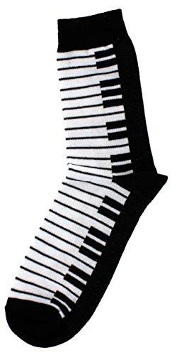 Musik-Socken Tastatur (35/38) - Schönes Geschenk für Musiker - 4