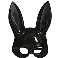 Bright Easter Party Rabbit Ears Mask Easter Gift for Families Friends Kinlene Half Face Masks Nightclub Bar Masquerade