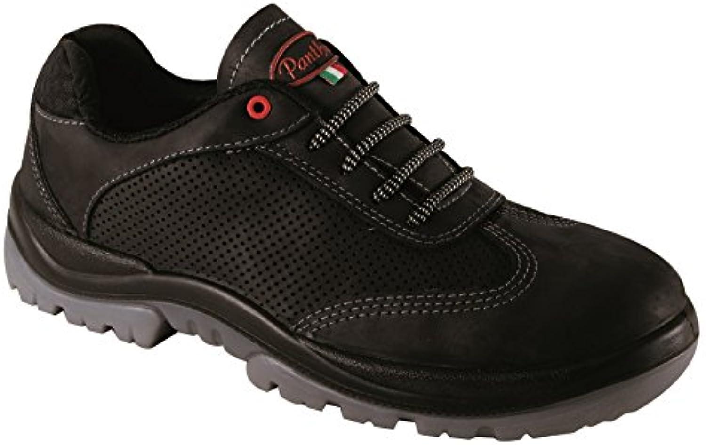 Panther 2528101la 45 Frazer Air S1P Zapatos de Trabajo, tamaño 45, Black