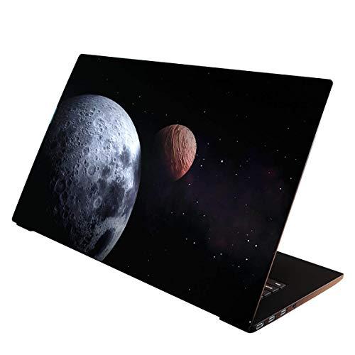 OneWheel / Folie Sticker Aufkleber Skin Schutzfolie für Notebook Laptop (Weltall, 15-17 Zoll)