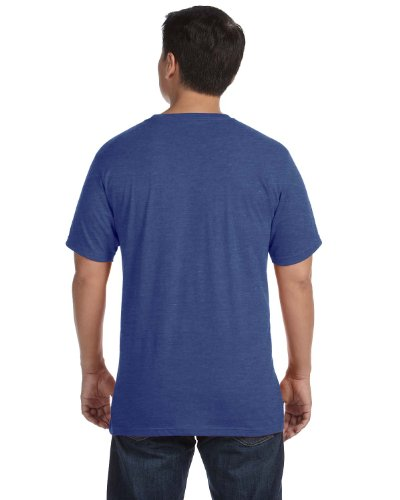 anvil Herren Sustainable T-Shirt / 450 Heather Azul