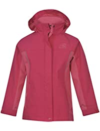 Karrimor Kids Urban Jacket Infants Fixed Hood Meshed Lining Reflective Detailing