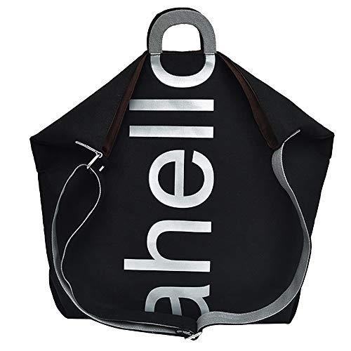 38b440d927 Borsa da viaggio borsa a mano borsa a tracolla messenger borsa di tela  lettera donne moda