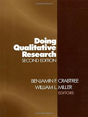 Doing Qualitative Research (Research Methods for Primary Care) by Crabtree (24-Aug-1999) Paperback