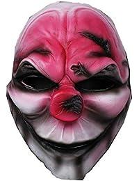 Shuang Yu Zou Fiesta De Disfraces De Halloween Viste A La Máscara De Resina Día De La Cosecha Serie 2 Nueva Cabeza Roja