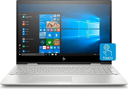 HP Envy x360 15-cn1018nl Silber Ibrido (2 in 1) 39,6 cm (15,6 Zoll) 1920 x 1080 Pixel Touchscreen 1,6 GHz Intel® CoreTM i5 Prozessor der nächsten Generation i5-8265U