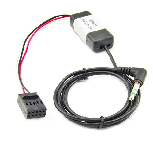 Watermark AX-0150 AUX IN Adapter Kabel für BMW 3er E46 ab 2002, 10pol Stecker