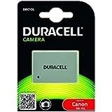 Duracell DRC10L Pile pour Canon NB-10L/PowerShot G1/G15/G16/SX 40/SX50 Argent