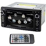 QSICISL 6,2 inch WinCE für Toyota in Dash HD Touch Screen Car DVD Multimedia Video Player GPS Navigation Stereo Support Bluetooth/SD/USB/iPod/FM/am Radio/DVR//AV-in/1080p