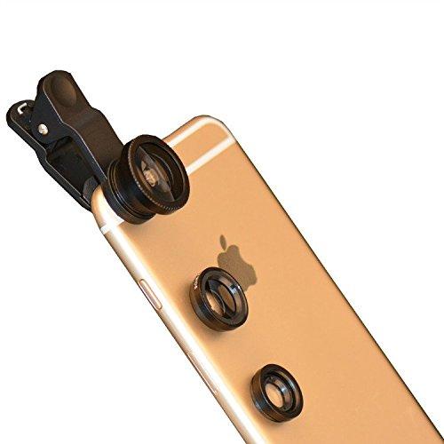 Bidafun-Fisheye-Fischauge-Objektiv-Set-Handy-Clip-On-Kamera-Adapter-180-Grad-Objektiv-Macro-Weitwinkelobjektive-3-in-1-Clip-On-Supreme-Weitwinkel-Makro-Objektiv-fr-iPhone-SE-6-6S-Plus-5S-5-5C-4S-4-Sam
