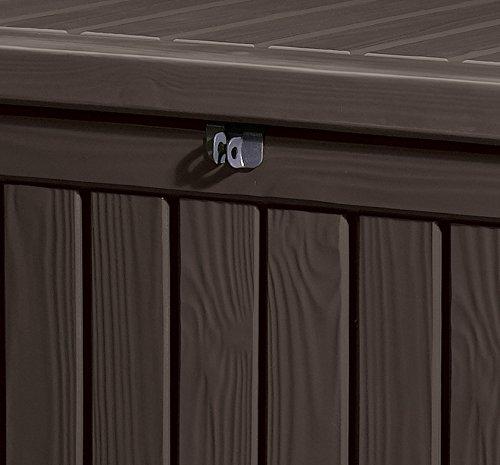 Keter Kissenbox Rockwood, braun, 570L, 155cm - 3