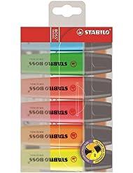 STABILO Boss Original 6er Etui- Textmarker