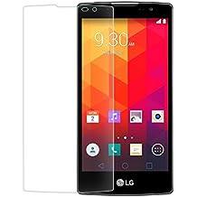 Funnytech_ - Cristal templado para LG Spirit 4G LTE. Protector de pantalla transparente para LG Spirit 4G LTE. Vidrio templado antigolpes (Grosor 0,3mm) – Kit de instalación incluido