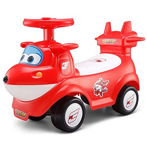 Veicoli a spinta e ruote Torsione Auto per Bambini 1-3 Anni Bambino Neonato Regalo per età Bambino camminatore Silenzioso Carrello Multi-cinetico Equitazione Giocattoli per Bambini Intrecciati
