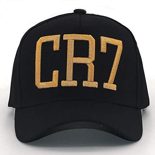 YUANBAOG Cristiano Ronaldo CR7 3D Stickerei Baseball Kappe cr7 fußball Hut für männer Frauen Mode Hysterese hüte Outdoor Sport caps
