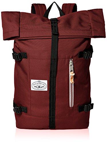 Poler Unisex Rucksack Retro Rolltop, 532020 Burgundy