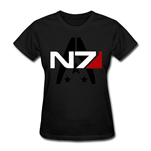Q-QQ9 Damen T-Shirt Gr. S, schwarz (Custome Hunger Games)