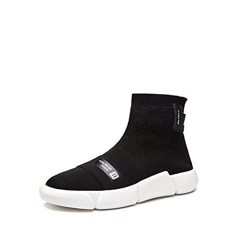 Chaussures de sport étudiant stretch élastique chaussettes chaussures bottes de toile tricot joker Coréen