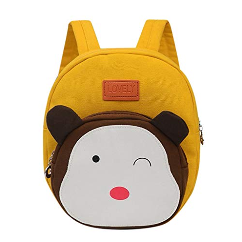 Clacce Kinder Tasche Rucksack Schultertaschen Umhängetasche Handtasche Cartoon Kindergarten Tasche Cute Little Animal Backpack