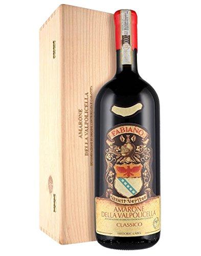 Amarone della Valpolicella Classico DOCG Etichetta Storica Fabiano 2014 Magnum 1,5 L cassetta di legno