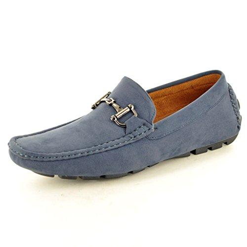 My Perfect Pair , Chaussures de ville à lacets pour homme Noir noir Bleu - Bleu marine