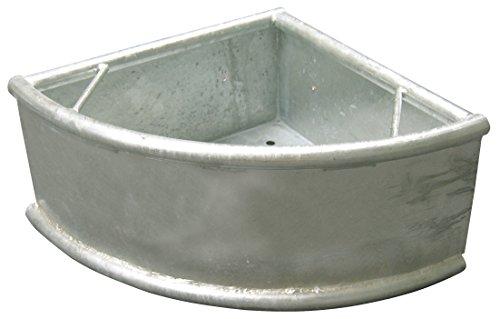 Kerbl 32482 Dreiecktrog, Schwere Ausführung, Feuerverzinkt