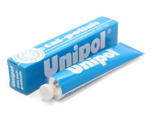Preisvergleich Produktbild Unipol Metal-Polish Pflegemittel für Metalle 50ml Alu,Chrom.VA
