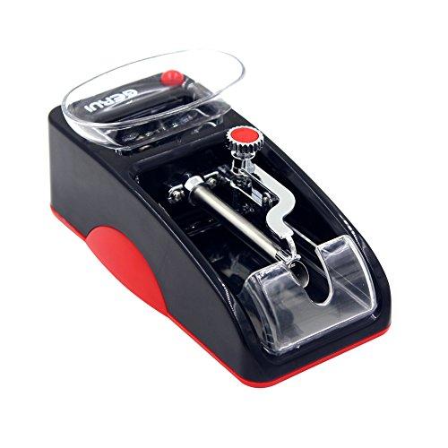 yontree Elektronische Maschine zum Zusammenrollen Cigarillo Maschine zum Befüllen Cigarillos Tabak Spezifikation Europäischen 220V Blau schwarz/rot