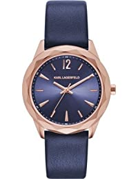 Karl Lagerfeld - Optik - reloj - blau