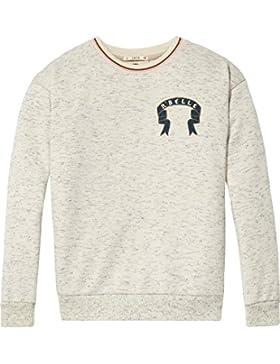 Scotch & Soda R'Belle Boxy Glittered Sweater, Sudadera para Niñas
