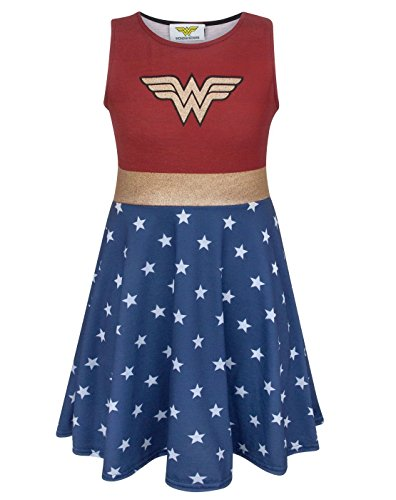 Wonder Woman Girl's Cosplay Costume Dress (11-12 Years) (Womens 12)
