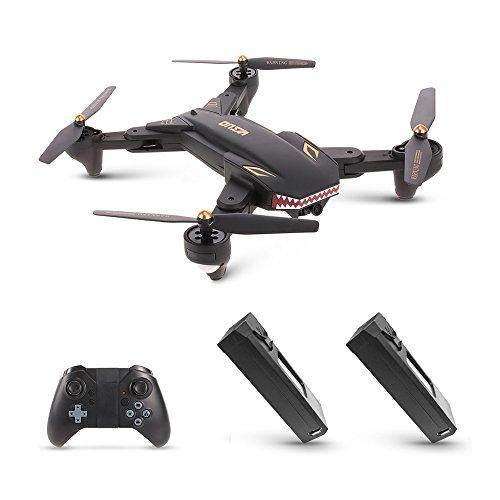 Goolsky VISUO XS809S Wifi FPV Drone con 2.0MP cámara gran angular One Key...