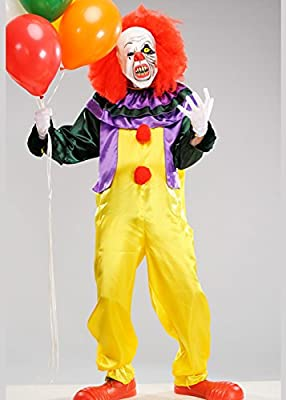 Adulto de Halloween que estilo traje de payaso de horror