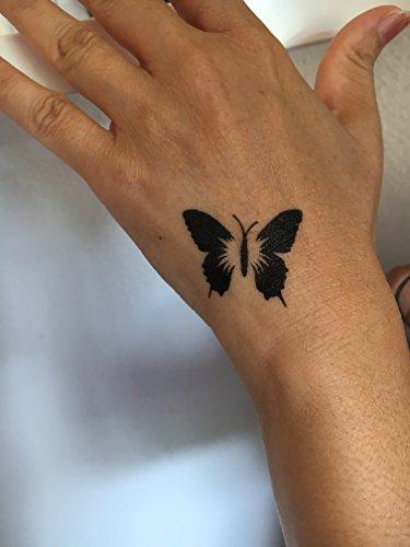 Mikronetz Tattoo Schablonen für Körperbemalung einfach und wiederverwendbar Mes01