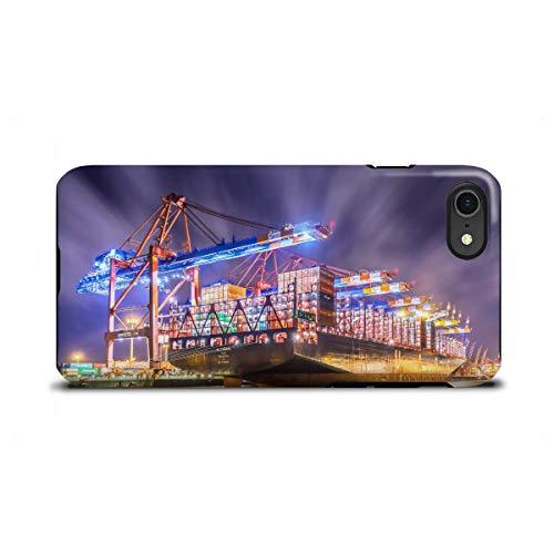 artboxONE Apple iPhone 8 Tough-Case Handyhülle Al Zubara von Jan Hartmann - Tough-Case Handyhülle Smartphone Case