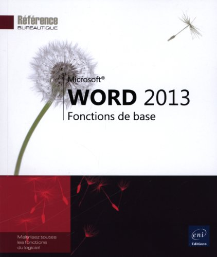 Word 2013 - Fonctions de base