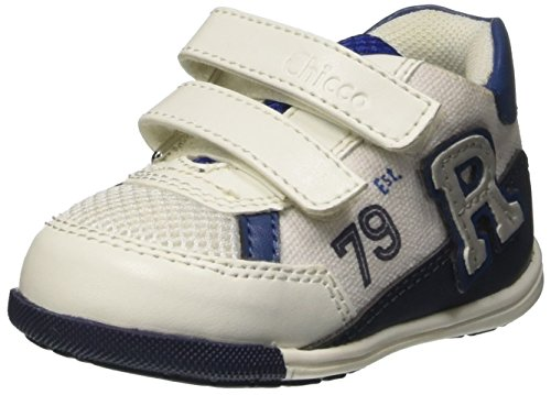 Chicco Gufo, Sneakers Bébé Garçon Blanc Cassé (Bianco)