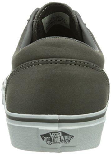 Vans M MILTON (TWILL) PEWTER/ Herren Sneaker Grau ((Twill) pewter/ / DQ7)