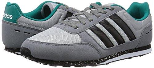 Adidas City Racer, Chaussures Sport, Multicolor Pour Homme (gris / Noir / Blanc (onicla / Negbas / Ftwbla))