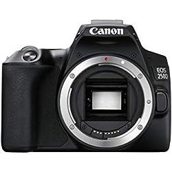 Canon EOS 250D Reflex numérique Boîtier Nu - Noir