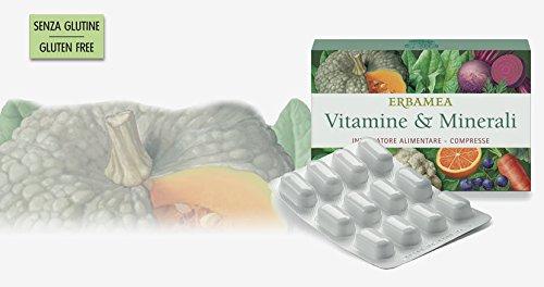 ERBAMEA - VITAMINE & MINERALI 24 CPR Vitamine, minerali e antiossidanti: più energia per il benessere!
