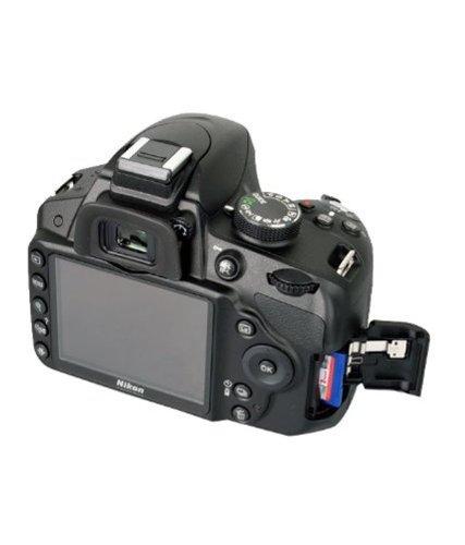 Nikon D3200 24.2MP Digital SLR Camera (Black) with 18-105mm VR II Kit Lens, 8GB Card and Camera Bag