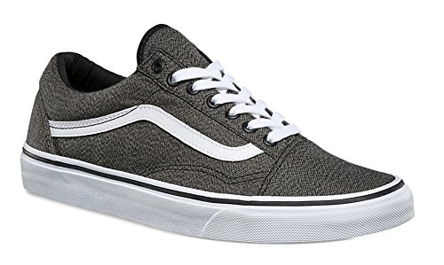 Vans Herren Old Skool Plateau Black/True White